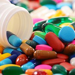 Analysis of pharmaceutical raw materials