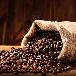 Analysis of coffee, cocoa, cappuccino, instant coffee