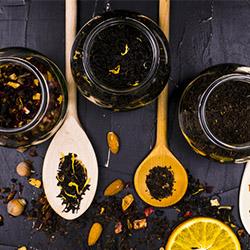 Analysis of tea, herbal tea and fruit tea