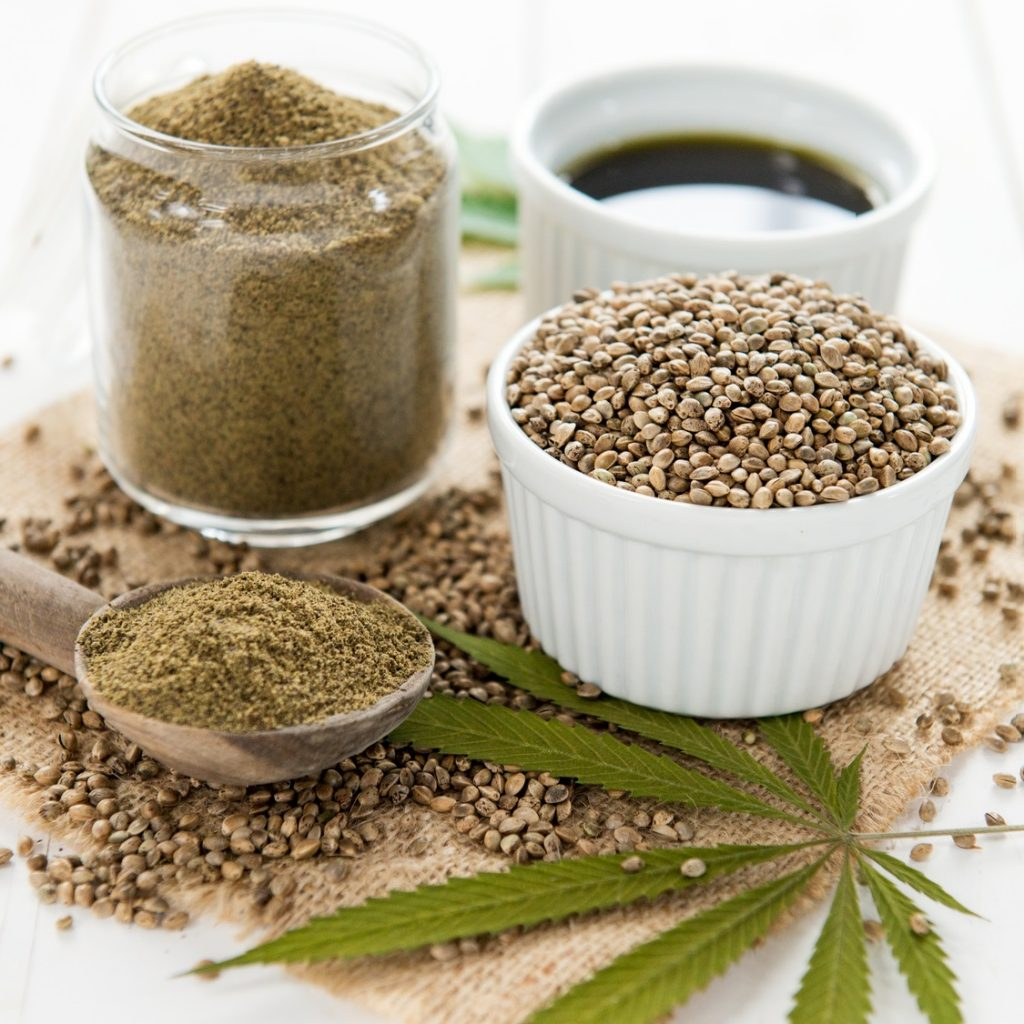 hemp containing food